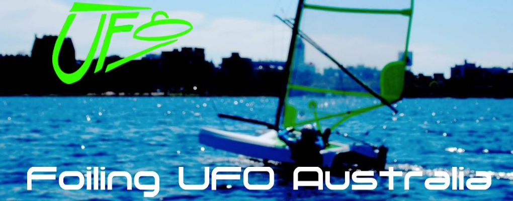 Foiling UFO Australia - importers of the Fulcrum Speedworks UFO